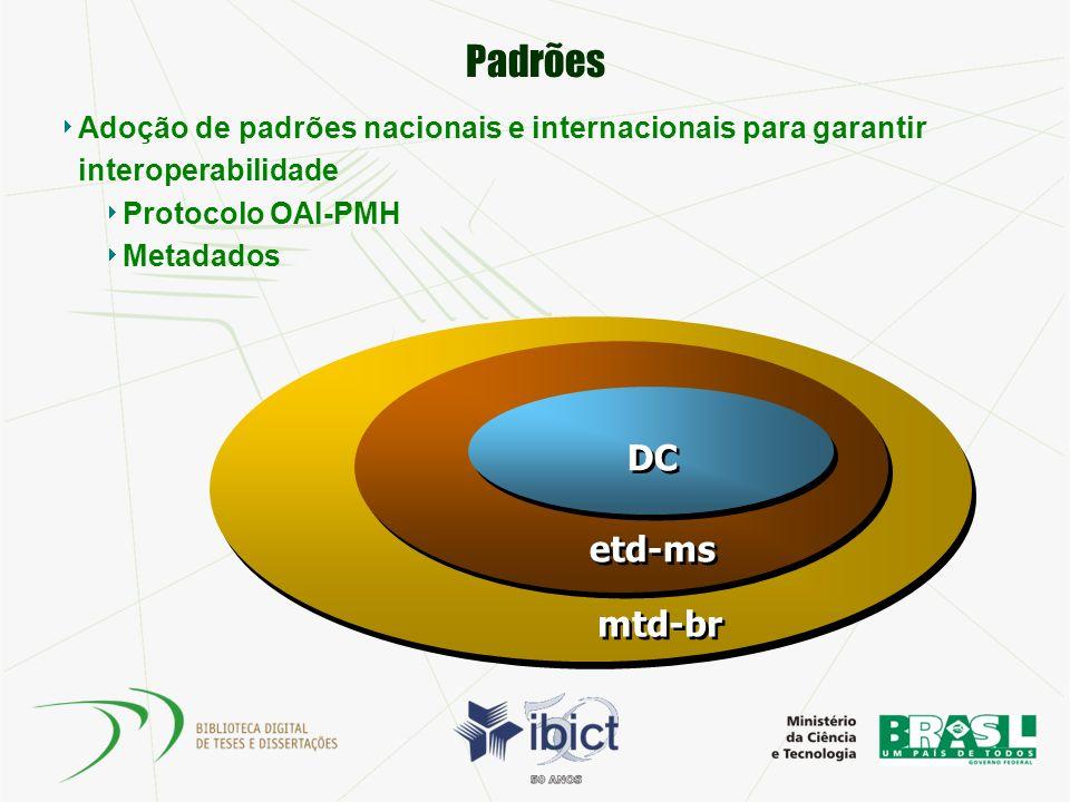 Plano de Implantação: Formação de equipe O Ibict sugere que a instituição receptora do sistema crie dois grupos de trabalho: 1.
