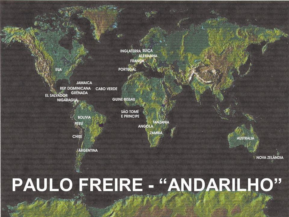 PAULO FREIRE - ANDARILHO