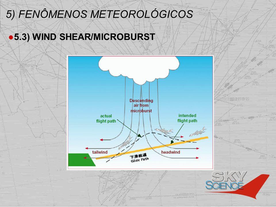 5) FENÔMENOS METEOROLÓGICOS 5.3) WIND SHEAR/MICROBURST