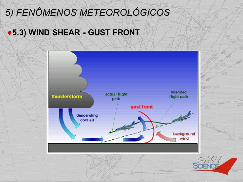 5) FENÔMENOS METEOROLÓGICOS 5.3) WIND SHEAR - GUST FRONT