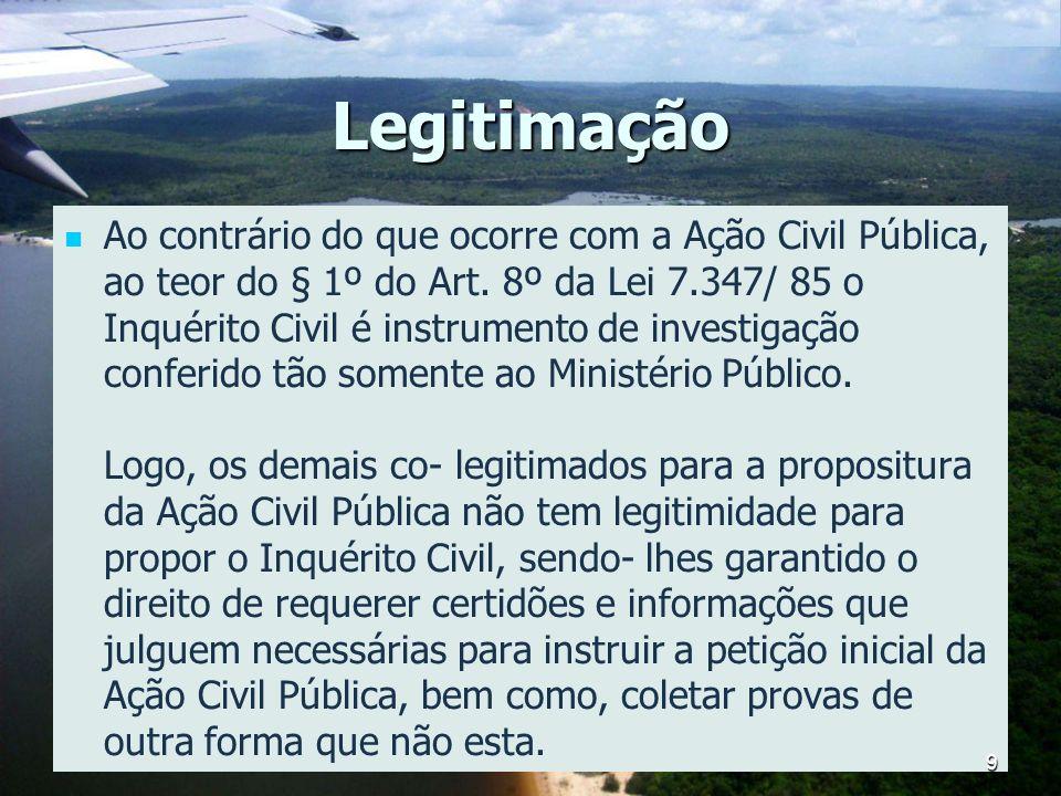 Legislação Ação Civil Pública - 7347/1985 Art.