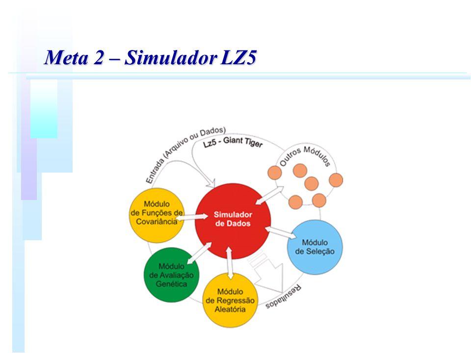 Meta 3 – Avaliação genética em codornas de corte n n Avaliação genética de linhagens de codorna de corte.