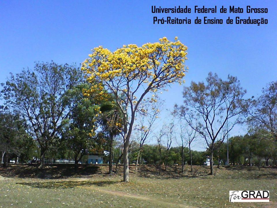 Universidade Federal de Mato Grosso Pró-Reitoria de Ensino de Graduação