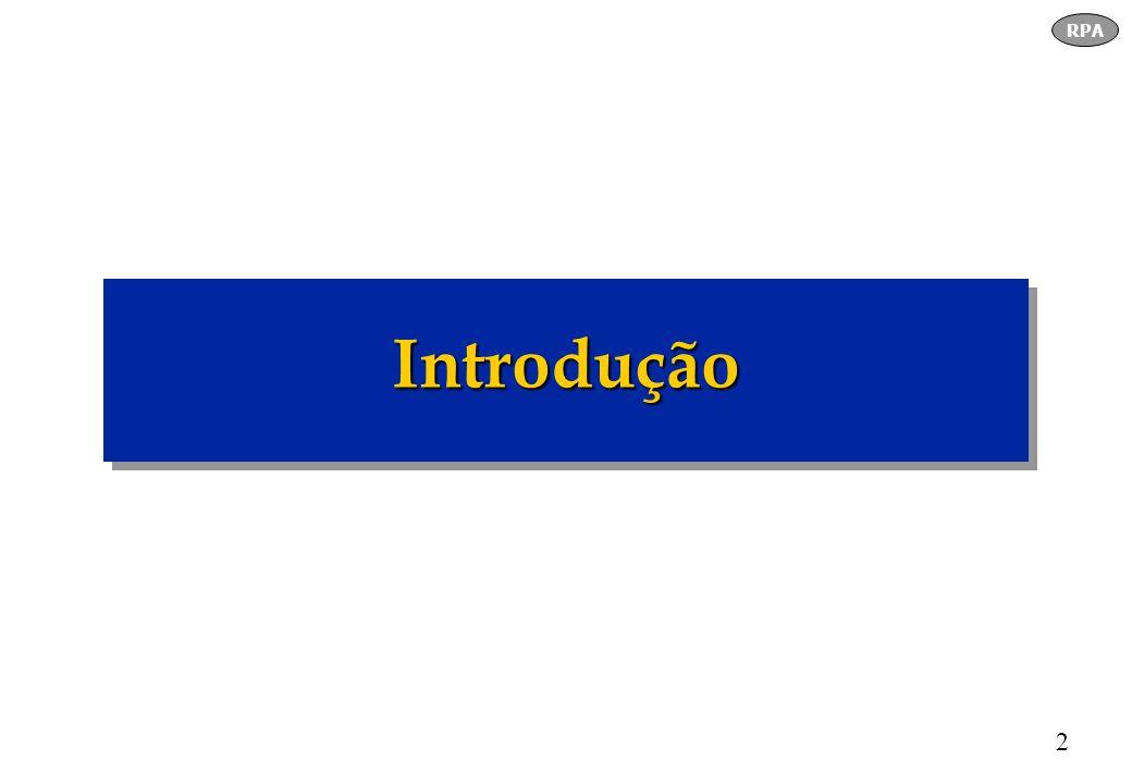 3 Década 60 - Características: - Ano :1946 - 1964 - Revolução industrial - Tradicionalista / Regras rígidas -Processos formais - Comunicação Rádio e TV ( Brasil, 1950) - Pouco conhecimento digital RPA