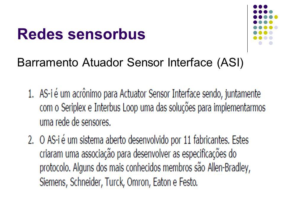 Redes sensorbus Barramento Atuador Sensor Interface (ASI)