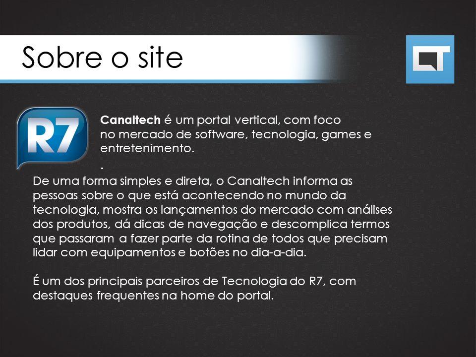 Sobre o site Canaltech é um portal vertical, com foco no mercado de software, tecnologia, games e entretenimento.. De uma forma simples e direta, o Ca