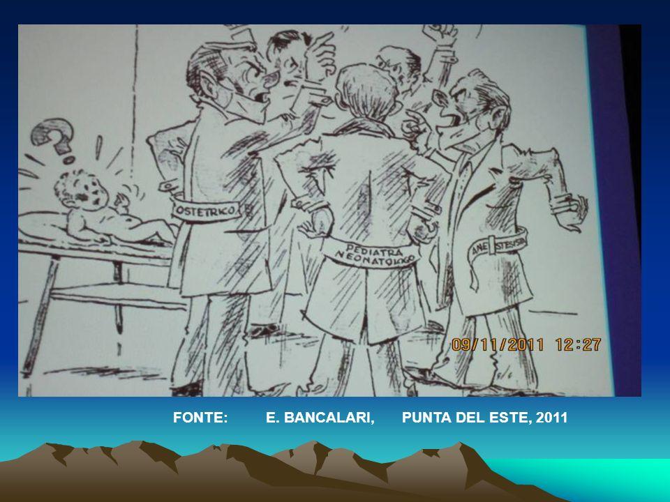 FONTE: E. BANCALARI, PUNTA DEL ESTE, 2011