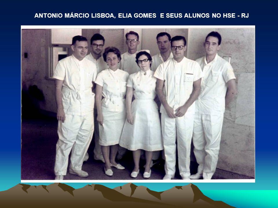 ANTONIO MÁRCIO LISBOA, ELIA GOMES E SEUS ALUNOS NO HSE - RJ