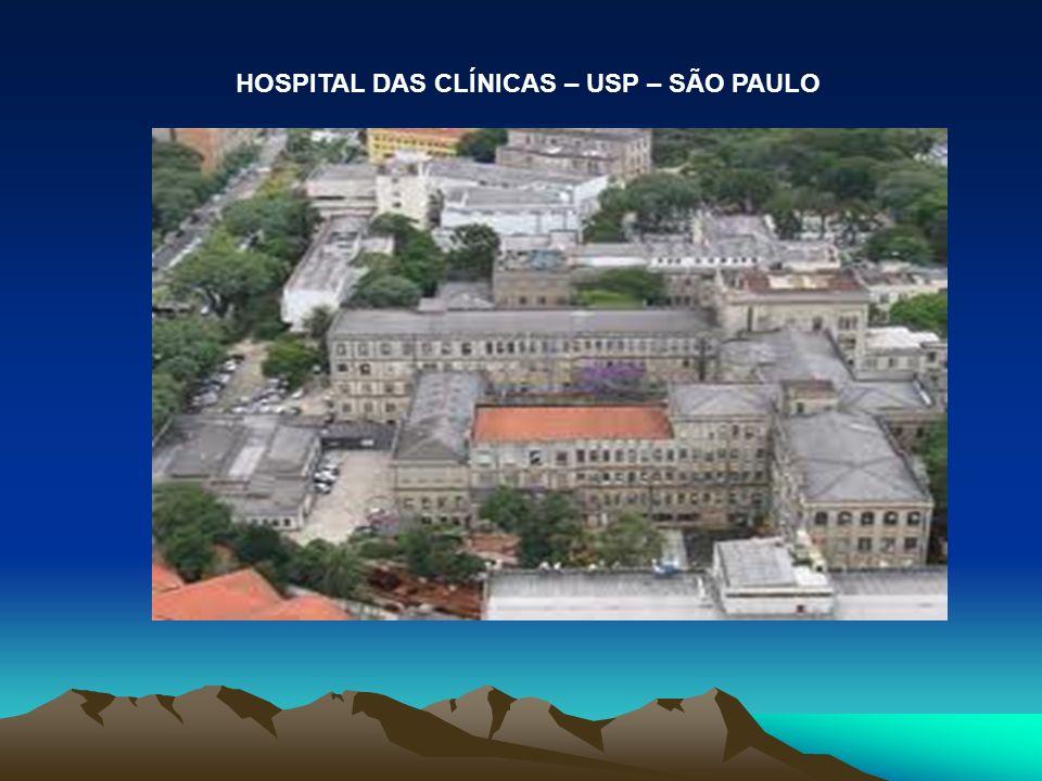 HOSPITAL DAS CLÍNICAS – USP – SÃO PAULO