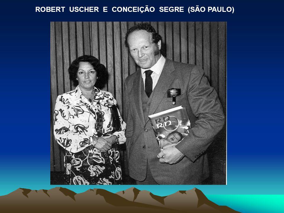ROBERT USCHER E CONCEIÇÃO SEGRE (SÃO PAULO)