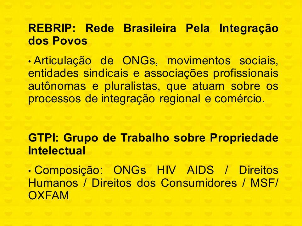 Acesso a Medicamentos - Obstáculos Dificuldade de implementação das flexibilidades do TRIPS O Brasil adotou o mecanismo pipeline (art.