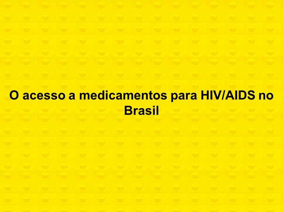 O acesso a medicamentos para HIV/AIDS no Brasil