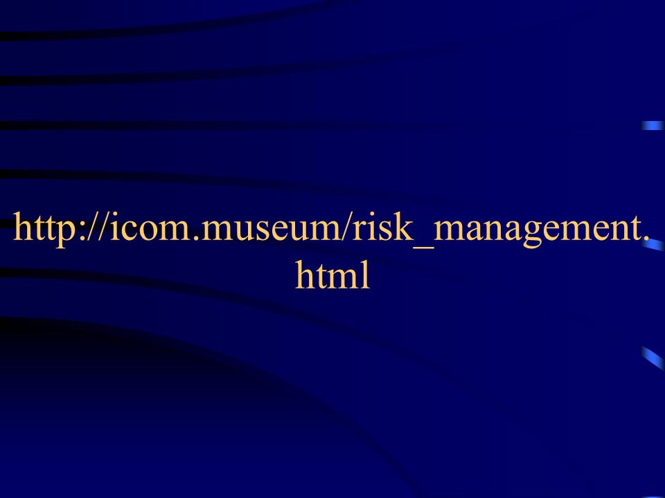 http://icom.museum/risk_management. html