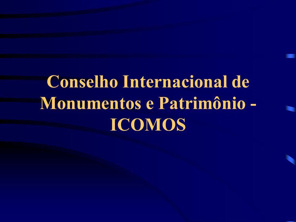 Conselho Internacional de Monumentos e Patrimônio - ICOMOS