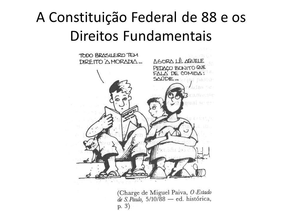 A Constituição Federal de 88 e os Direitos Fundamentais