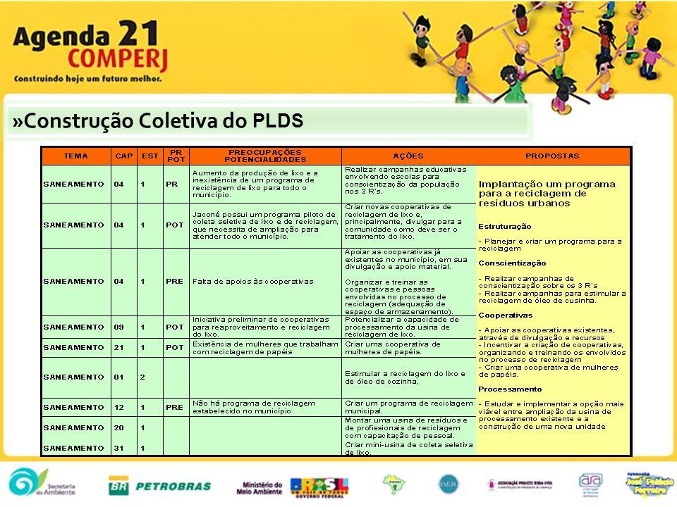 »Construção Coletiva do PLDS