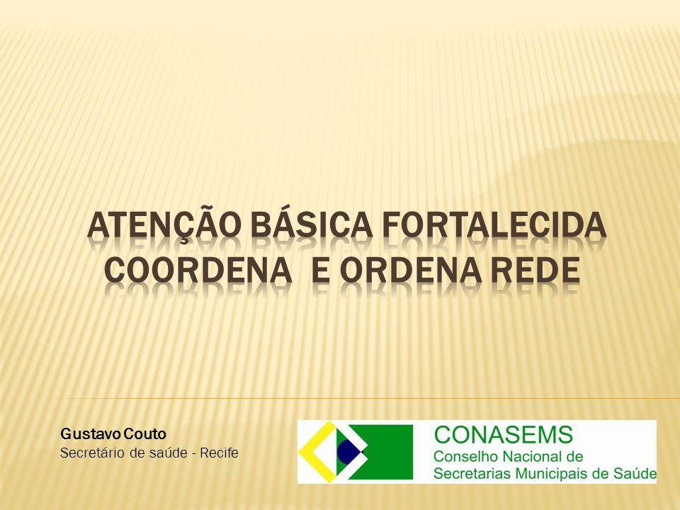 Gustavo Couto Secretário de saúde - Recife