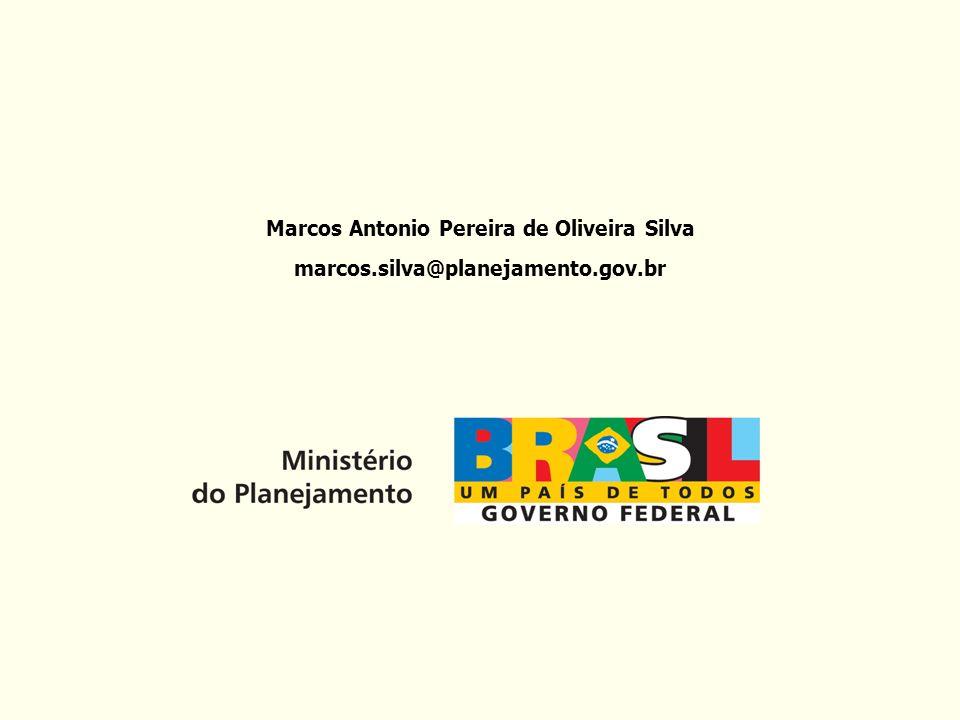 Marcos Antonio Pereira de Oliveira Silva marcos.silva@planejamento.gov.br