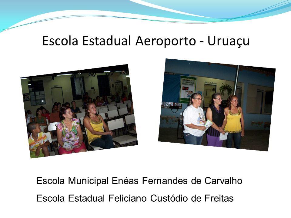 Escola Estadual Aeroporto - Uruaçu Escola Municipal Enéas Fernandes de Carvalho Escola Estadual Feliciano Custódio de Freitas
