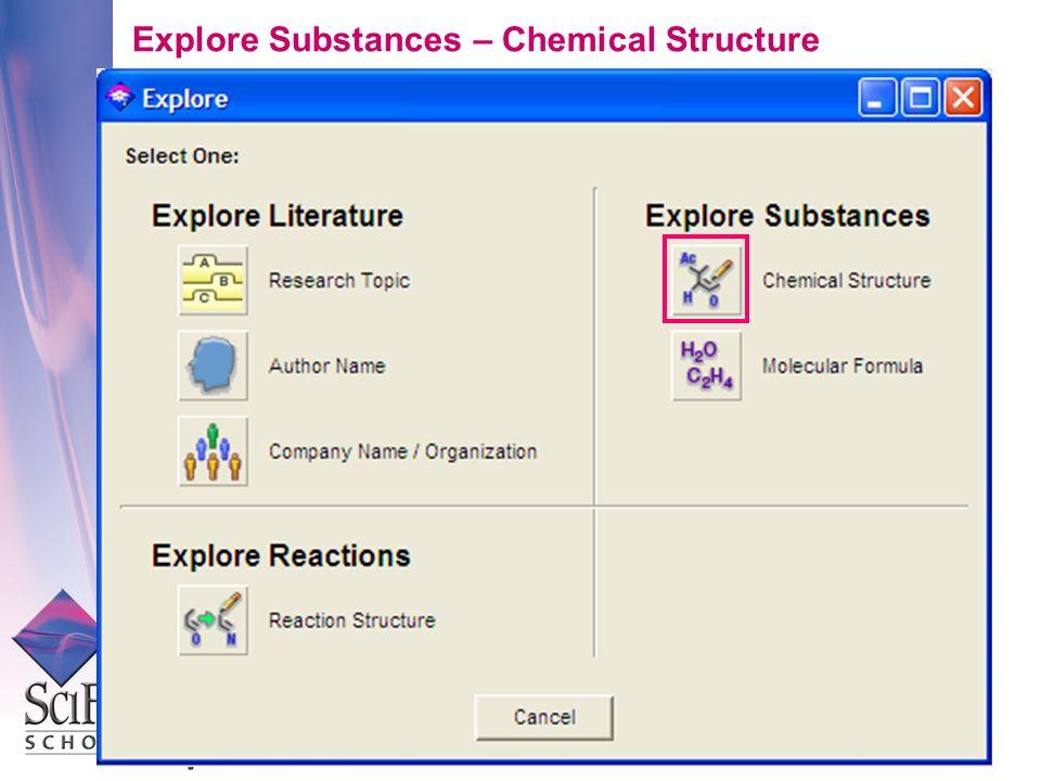 Explore Substances – Chemical Structure