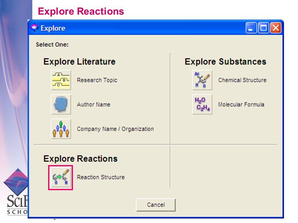 Explore Reactions