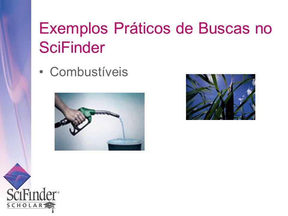 Exemplos Práticos de Buscas no SciFinder Combustíveis