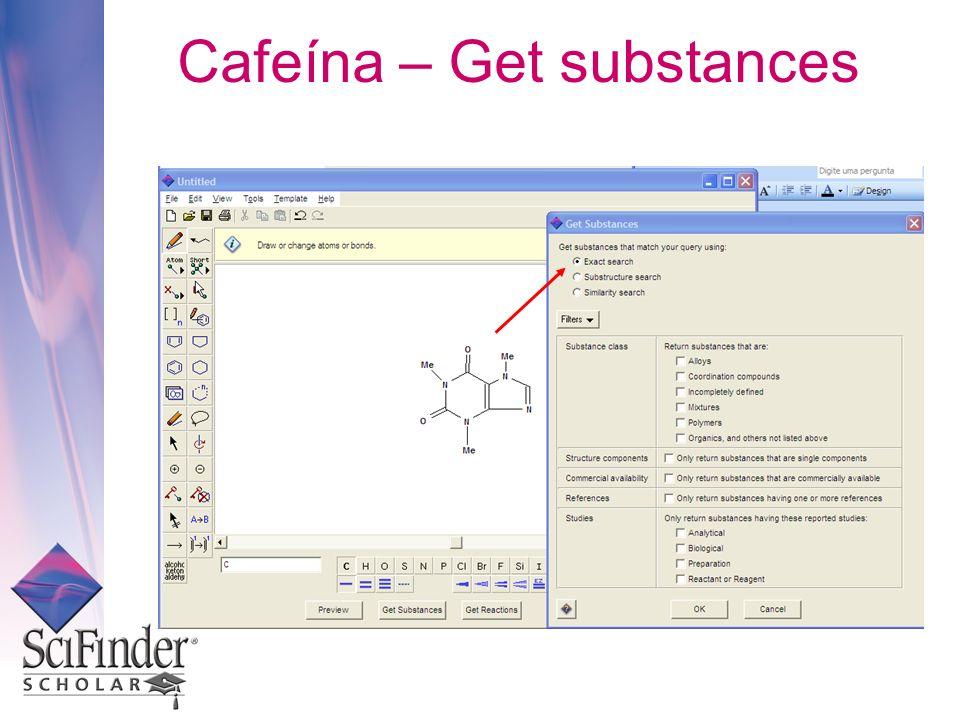 Cafeína – Get substances