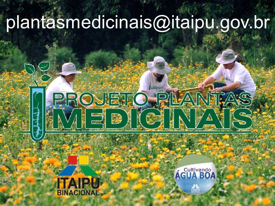 FABRO / 2005 plantasmedicinais@itaipu.gov.br