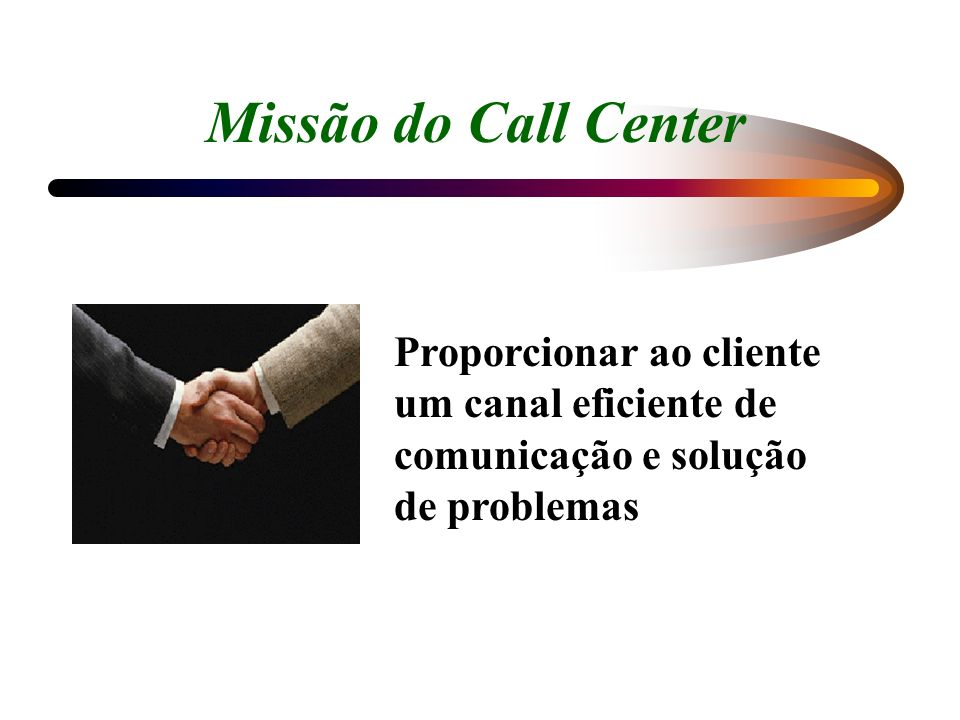 A Evolução do Call Center