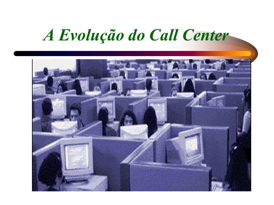 A tendência da tecnologia Integração no Contact Center de todos os tipos de atendimentos, voz, vídeo, internet, fax, correio de voz, e-mail, etc Em breve comutação será feita por uma única via de dados.