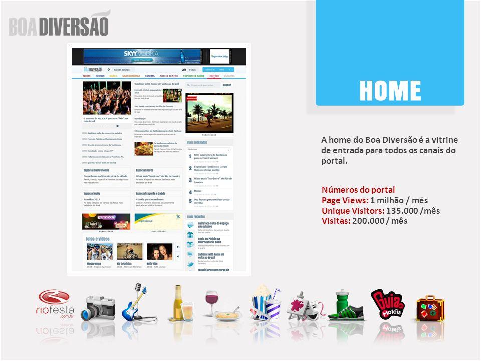 O RioFesta é o canal NOITE do Boa Diversão.