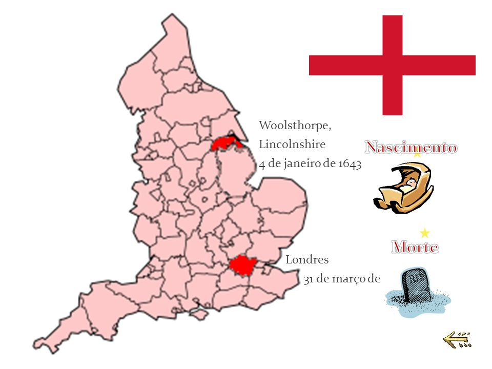 Woolsthorpe, Lincolnshire 4 de janeiro de 1643 Londres 31 de março de 1727