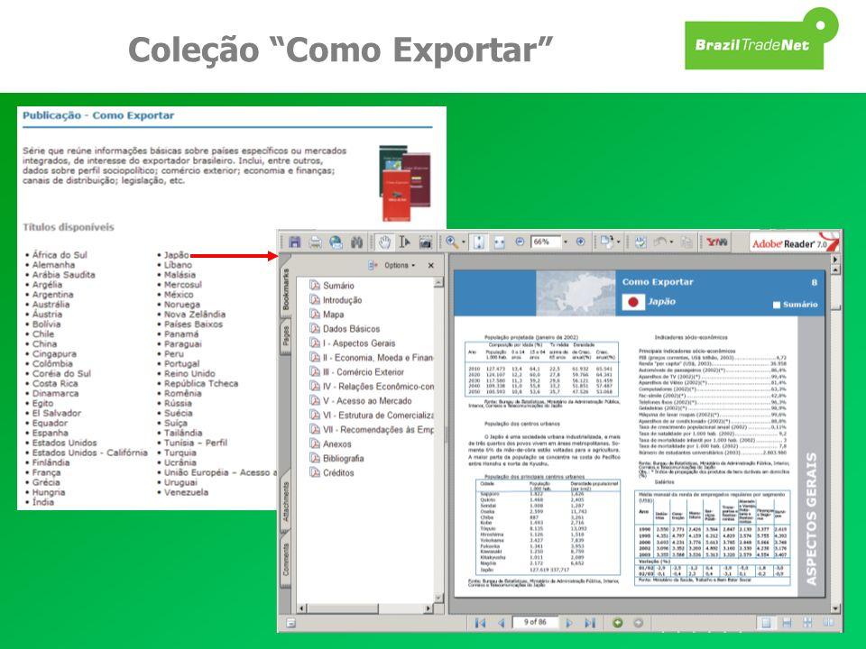 Coleção Como Exportar