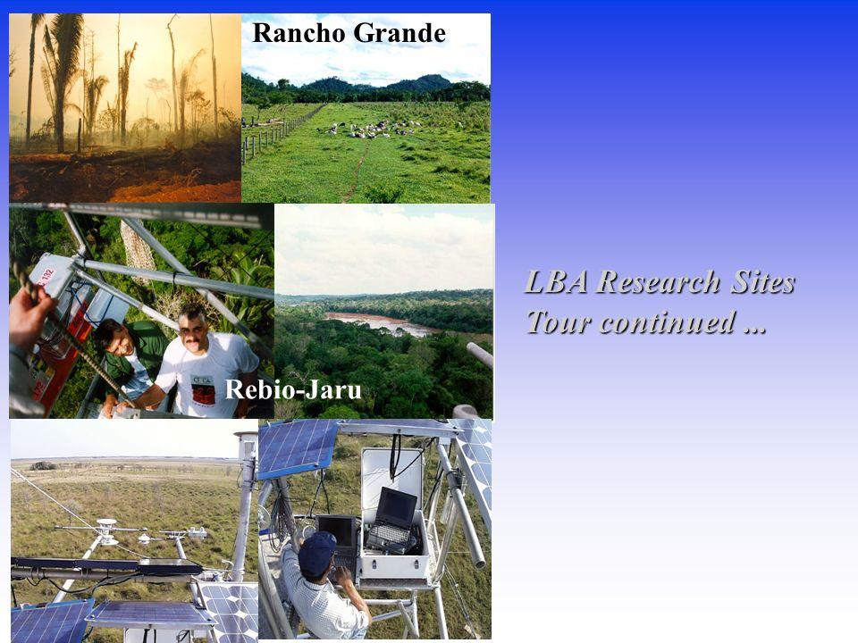 Tour continued... Rancho Grande Rebio-Jaru