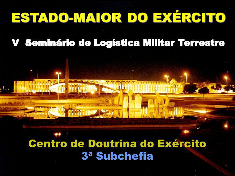 ESTADO-MAIOR DO EXÉRCITO Centro de Doutrina do Exército 3ª Subchefia