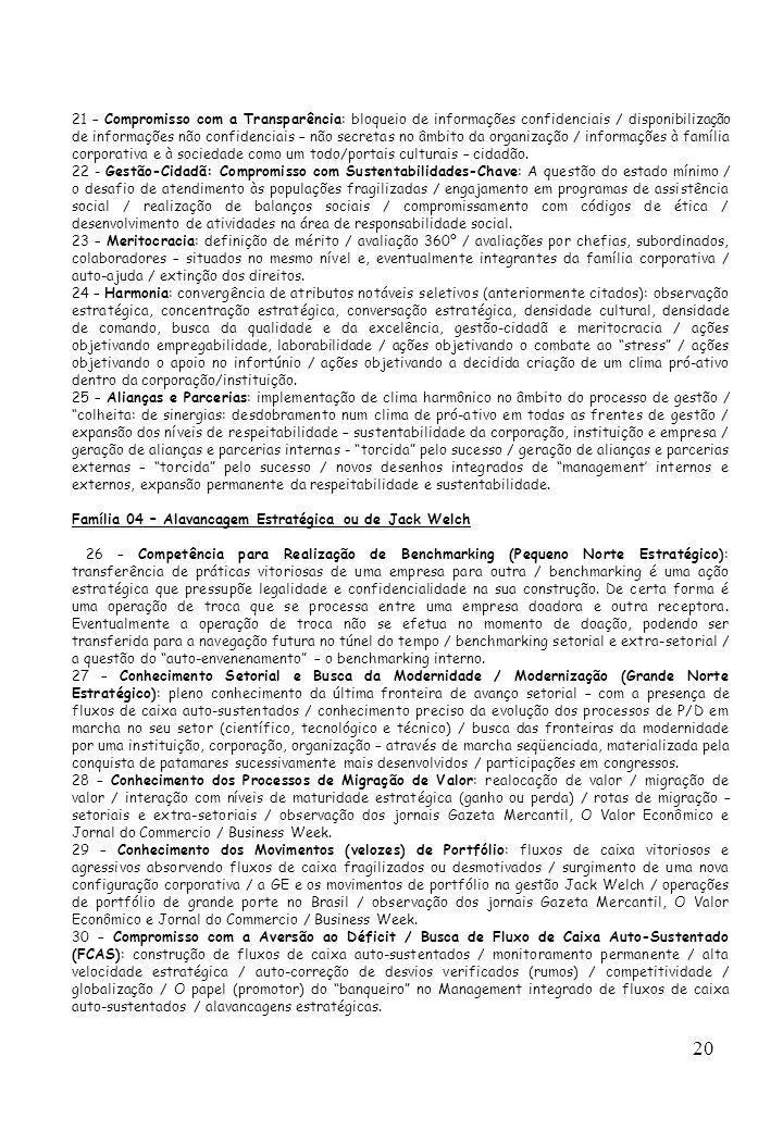 20 21 – Compromisso com a Transparência: bloqueio de informações confidenciais / disponibilização de informações não confidenciais – não secretas no â