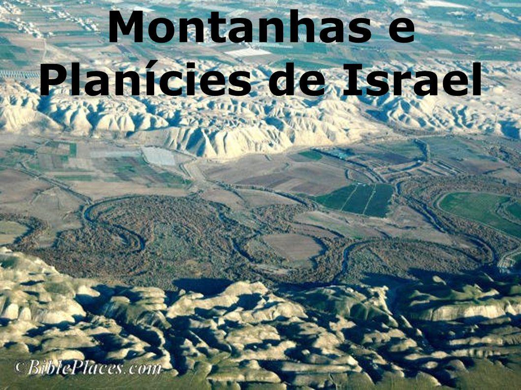 As Principais Elevações Na parte ocidental do rio Jordão