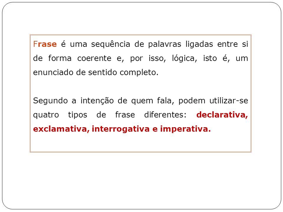 Tipos de Frases B.4.Sintaxe B.4.3.