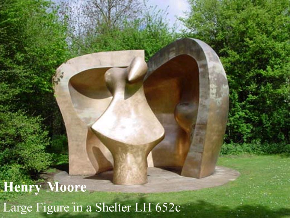 Henry Moore Large Figure in a Shelter LH 652c