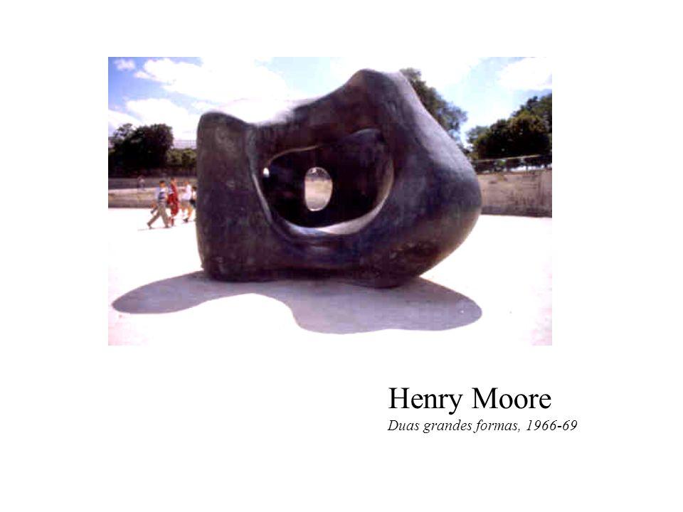 Henry Moore Duas grandes formas, 1966-69
