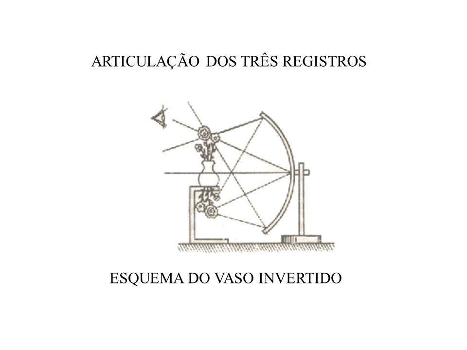 ESQUEMA DO VASO INVERTIDO ARTICULAÇÃO DOS TRÊS REGISTROS
