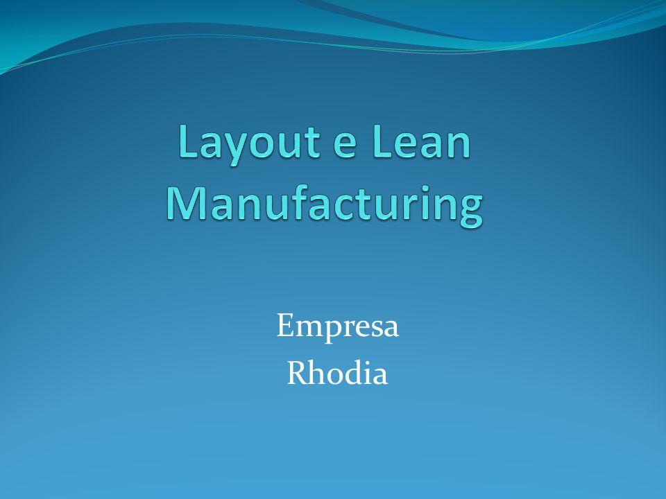 Layout 12 No layout da empresa Cógnis podemos destacar: Há três empresas distintas de produção dentro da área fabril; 1.
