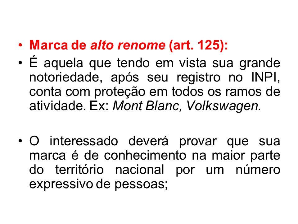 Marca de alto renome (art.