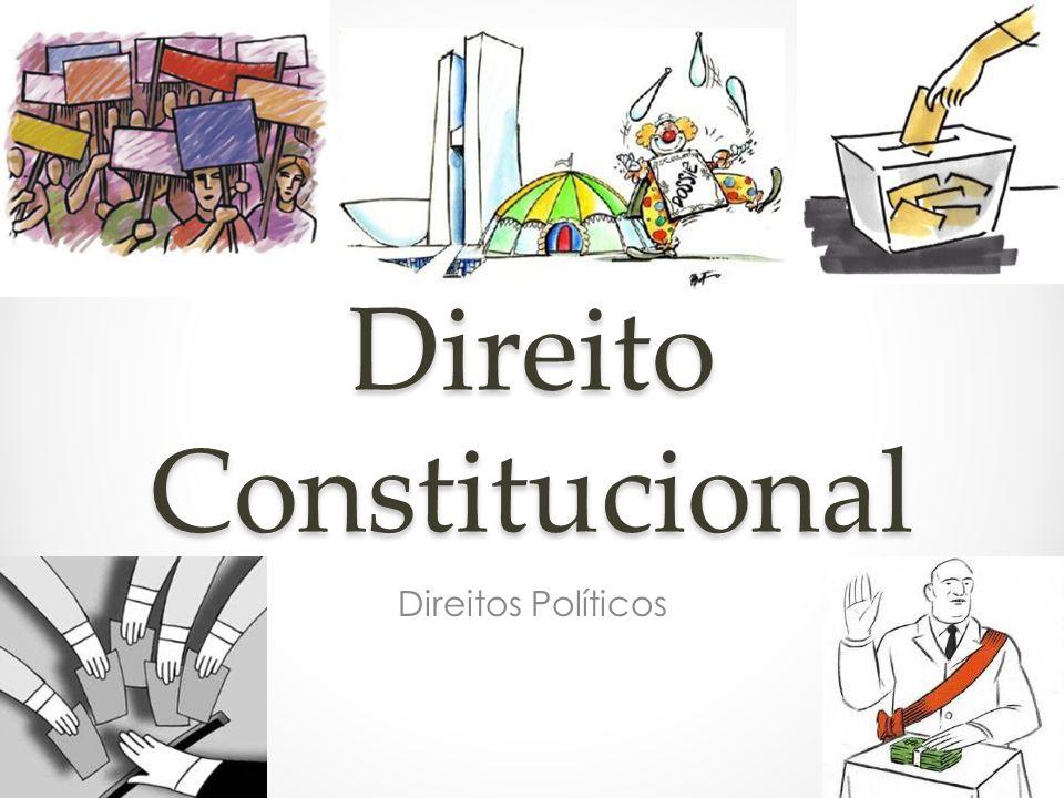 Direito Constitucional Direitos Políticos