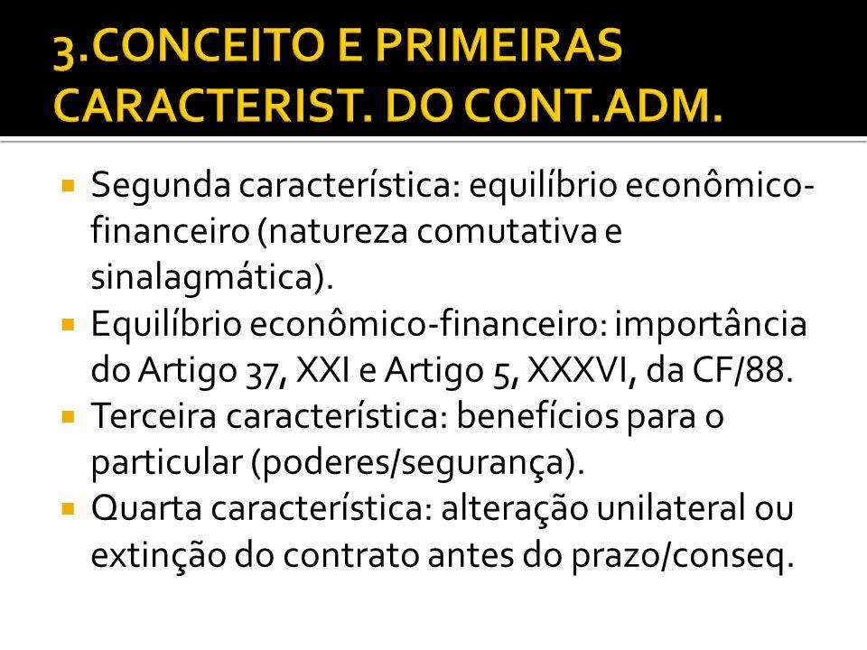 Competência para legislar sobre contratos.Competência concorrente.