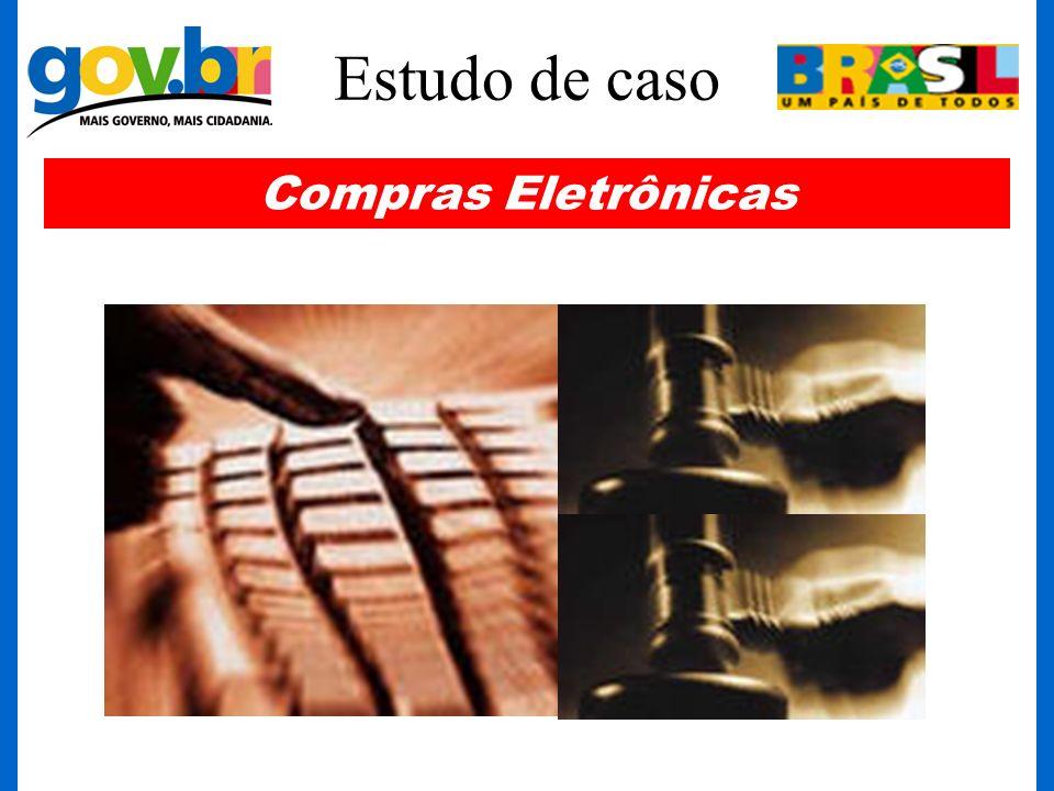 Estudo de caso Compras Eletrônicas