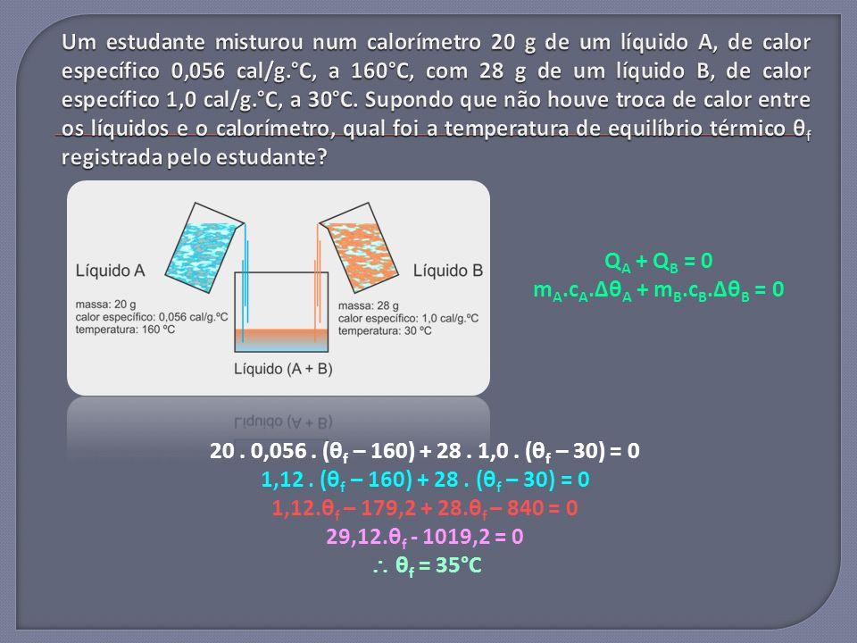 20. 0,056. (θ f – 160) + 28. 1,0. (θ f – 30) = 0 1,12. (θ f – 160) + 28. (θ f – 30) = 0 1,12.θ f – 179,2 + 28.θ f – 840 = 0 29,12.θ f - 1019,2 = 0 θ f