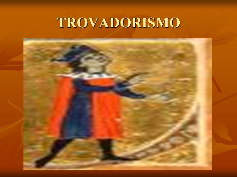 Trovadores Trovadores Na lírica medieval, os trovadores eram os artistas de origem nobre, que compunham e cantavam, com o acompanhamento de instrumentos musicais, as cantigas (poesias cantadas).