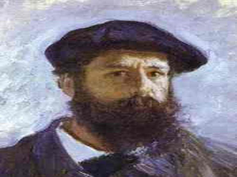 1840 - 1862 Claude Oscar Monet nasceu em Paris, na França, em 1840.