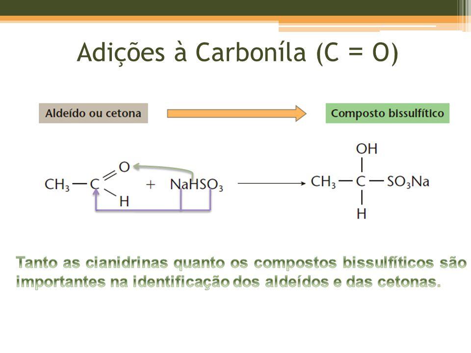 Adições à Carboníla (C = O)